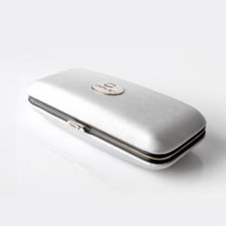 Ovale Lüks Taşıma Kutusu (Gümüş) image 1
