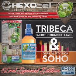 TOBACCO Natura Special 60ml Tribeca & Soho (Yumuşak-Orta Arası Tütün, Karamel, Lüks Kuruyemiş Karışımı, Meksika Vanilyası) 9mg image 1