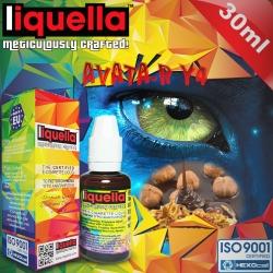 TOBACCO Liquella 30ml Avata-R Y4 (Yumuşak-Orta Arası Tütün, Karamel, Madagaskar Vanilyası, Kavrulmuş Fındık) 6mg image 1