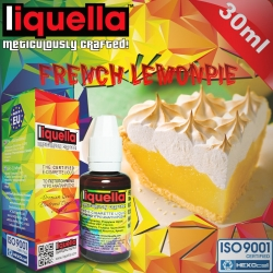 FRUITY Liquella 30ml French Lemon Pie (Limonlu Mereng Turta) 6mg image 1