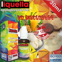 AROMATIC Liquella 30ml No Disclosure (Ananas, Sütlü Çikolata, Kurabiye, Lüks Vanilyalı Dondurma, Hindistan Cevizi) 3mg image 1