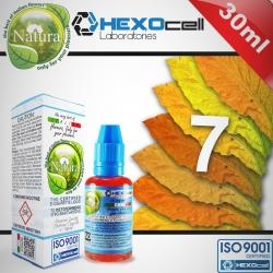 TOBACCO HEXOcell / Natura 30ml 7 Foglie (Yedi Farklı Tütün) 3mg image 1