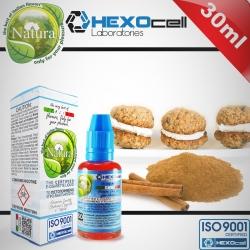 AROMATIC HEXOcell / Natura 30ml Cinnamon Cookies (Kremalı Ev Tipi Kurabiye, Tarçın) 6mg image 1