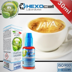 AROMATIC HEXOcell / Natura 30ml Java Coffee (Lüks Sumatra/Java Kahvesi) 6mg image 1