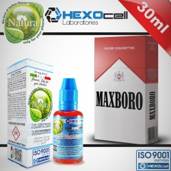 TOBACCO HEXOcell / Natura 30ml Maxboro (Kısa Kırmızı Marlboro) 3mg image 1