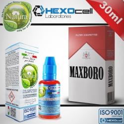 TOBACCO HEXOcell / Natura 30ml Maxboro (Kısa Kırmızı Marlboro) 9mg image 1