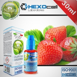 FRUITY HEXOcell / Natura 30ml Strawberry (Çilek) 6mg image 1