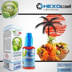 FRUITY HEXOcell / Natura 30ml Tro.Pi.Cal (Çeşitli Tropikal Meyveler) 9mg image 1