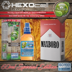 TOBACCO Natura Special 60ml Maxboro (Kısa Kırmızı Marlboro) 9mg image 1
