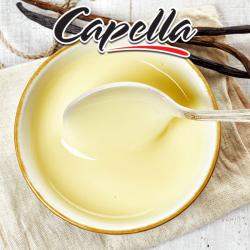AROMATIC 10ml Capella DIY Aroma - Vanilla Custard (Pişirilmiş Süt, Yumurta, Şeker, Tereyağı ve Vanilya) image 1